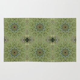 White pine kaleidoscope/mandala II Rug