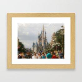 Cinderella's Castle, Walt Disney World, Magic Kingdom Framed Art Print