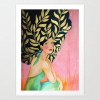 sofia (original) Art Print