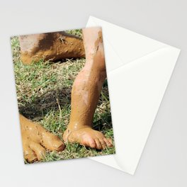 Life can be messy - Don't worry, I'm right behind you Stationery Cards