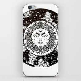 Moon. iPhone Skin