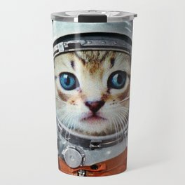 Astronaut Cat #4 Travel Mug