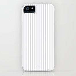 Grey Harbour Mist Mattress Ticking 2018 London Fashion Color iPhone Case