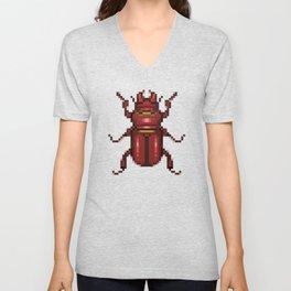 stop buggin' me Unisex V-Neck