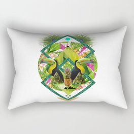 ▲ TROPICANA ▲ by KRIS TATE x BOHEMIAN BLAST Rectangular Pillow