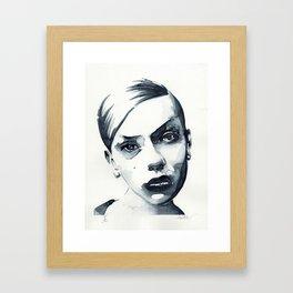 B*** Framed Art Print