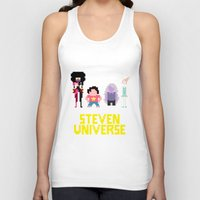 steven universe Tank Tops featuring Steven Universe by NeleVdM