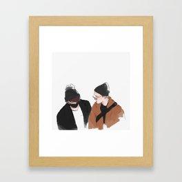 171114 Framed Art Print