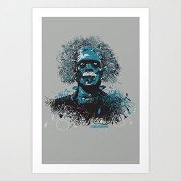 Frank Einstein Art Print