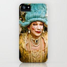 contessa tocado iPhone Case