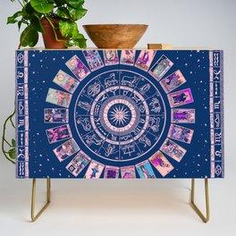 Major Arcana & Wheel of the Zodiac | Pastel Goth Credenza