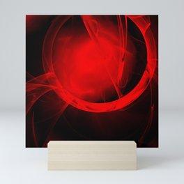 Portal to a vibrant hot future Mini Art Print