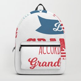 Grandparents granny woman gift Backpack