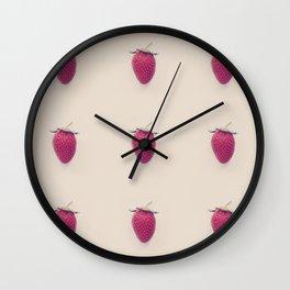 Strawberry Beret Wall Clock