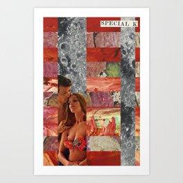 Fell in Love in Retrograde  Art Print