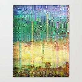 Atlante / CITIES over CITIES Canvas Print