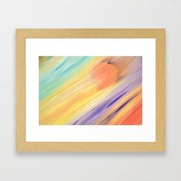 """Catch the Sun #1 – New #1"" Oil Painting Framed Art Print"