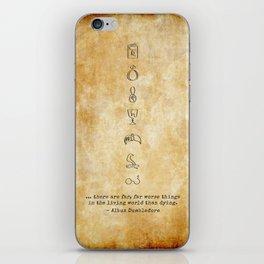 Horcruxes iPhone Skin