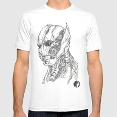 ULTRON MEDIUM Mens Fitted Tee White