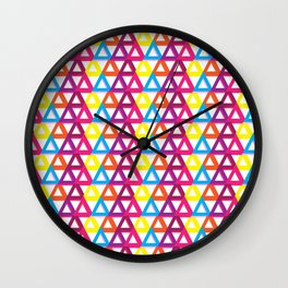Triangle Special A Wall Clock