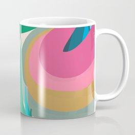Color the World Abstract Art Coffee Mug