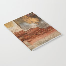Broken old Wall Notebook