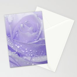 Rose with Drops 085 Stationery Cards