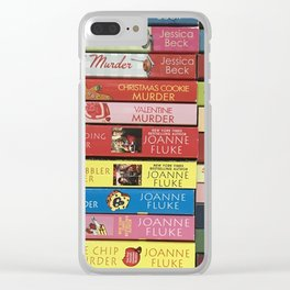 Cozy Mysteries 2 Clear iPhone Case