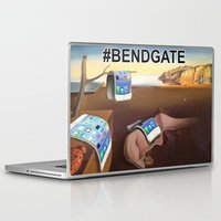 salvador dali Laptop & iPad Skins featuring Salvador Dali iPhone6 #BENDGATE by JOlorful