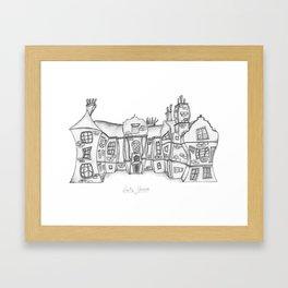 Satis House Framed Art Print