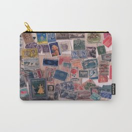 20th Century through stamps Carry-All Pouch