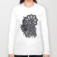 ornate Long Sleeve T-shirts featuring Ornate  by Shivani C