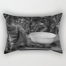Feral Cat Rectangular Pillow