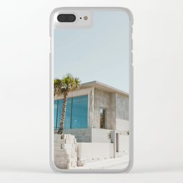 Modern House Clear iPhone Case