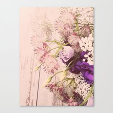 Gorgeous Vintage Floral Canvas Print