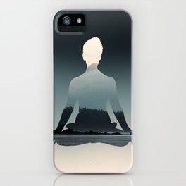Nature Meditation Photography Print iPhone Case