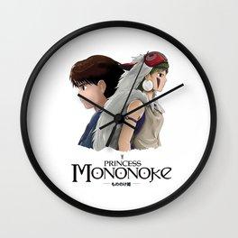 Ashitaka x Mononoke Wall Clock