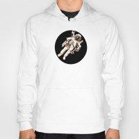 astronaut Hoodies featuring Astronaut by Kristin Frenzel