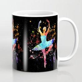 Ballerina Blacky Black Coffee Mug