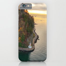 Sunset Over Stanley Park iPhone Case