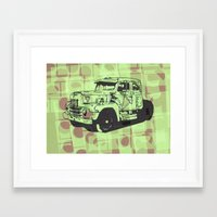 truck Framed Art Prints featuring Truck by Hans Eiskonen