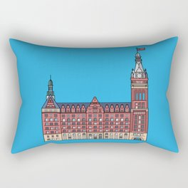 Milwaukee City Hall Rectangular Pillow