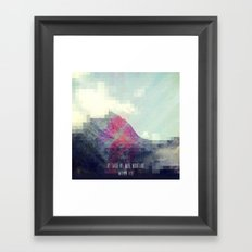 Matthew 17:20 Framed Art Print