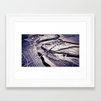 memphis Framed Art Prints featuring Memphis by James Hargreaves