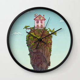 THE HOUSE ON THE CLIFF Wall Clock