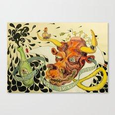 Ideia Noturna Canvas Print