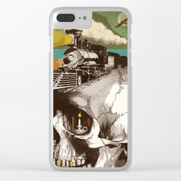 THE BUILDERS Clear iPhone Case