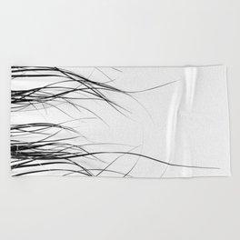 Grass Beach Towel