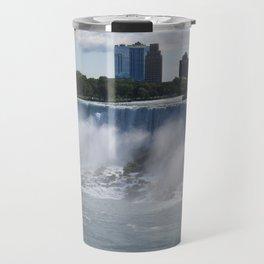 Quarter View of American Falls Travel Mug
