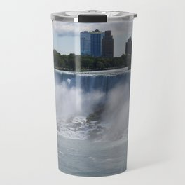 Quarter View of American Falls Travel Mug